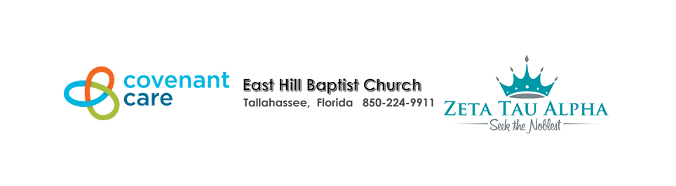 logos for covenant care and east hill baptist church